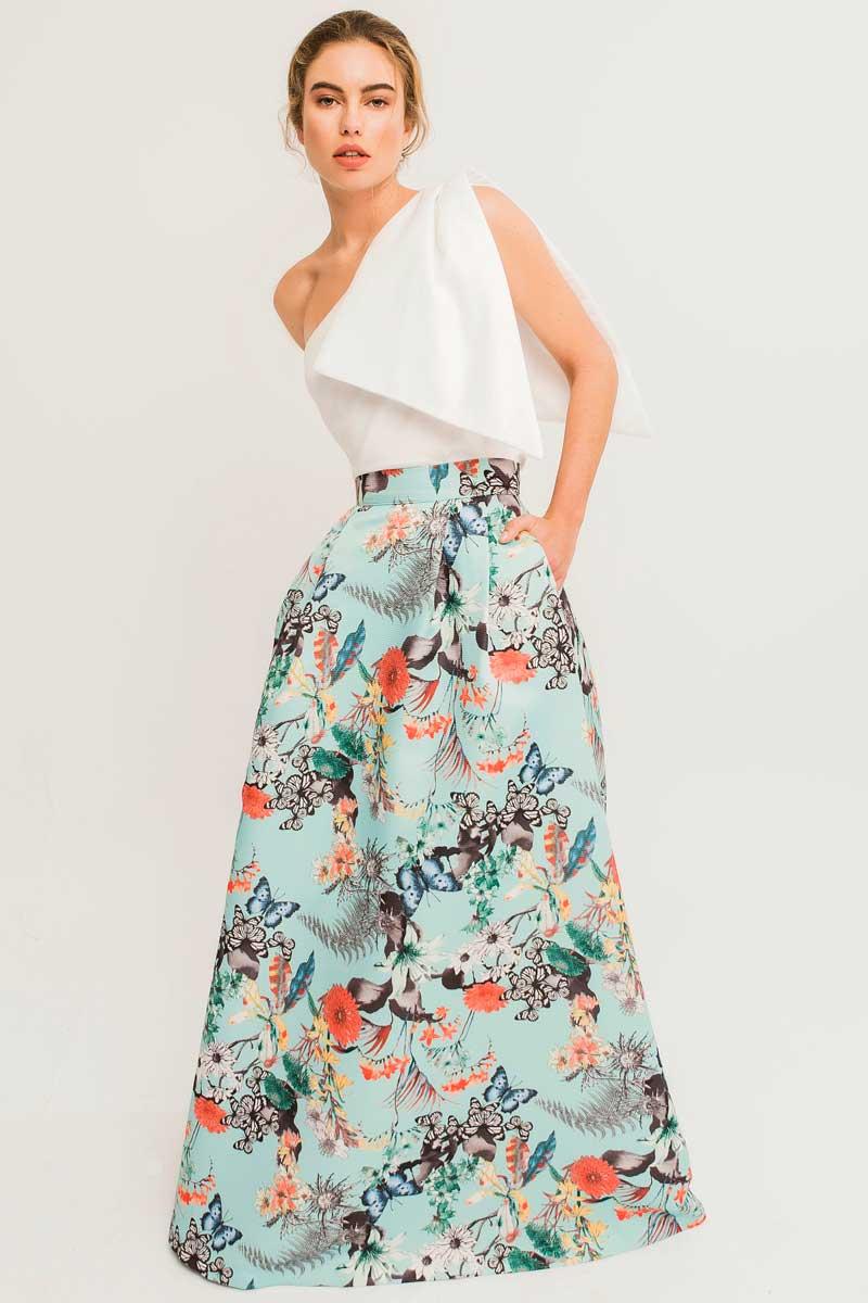falda estampada otoman greta apparentia