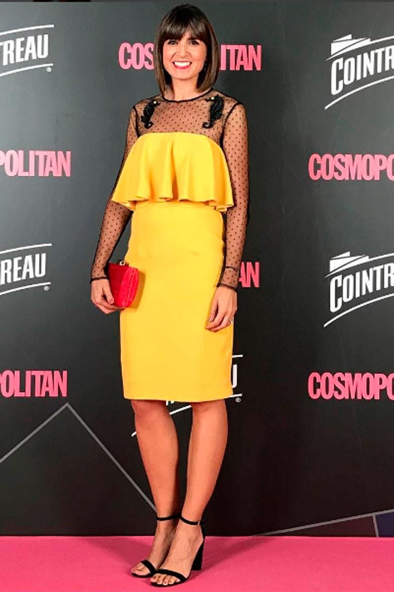cristina mitre en premios cosmo adwards de revista cosmopolitan
