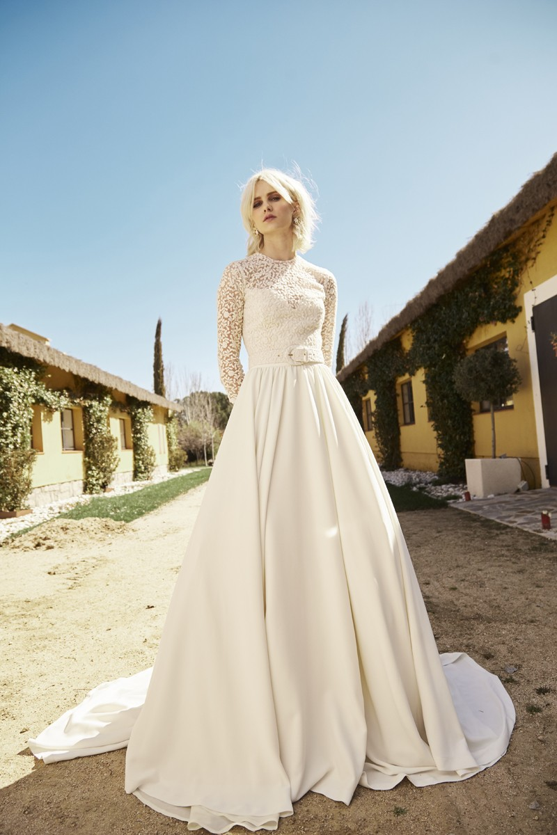 vestidos novia romanticos elegantes sofisticados novia apparentia bridal collection