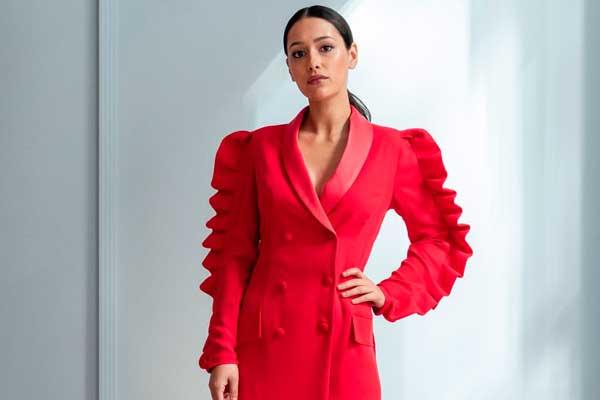 vestido nochevieja marmara rojo apparentia