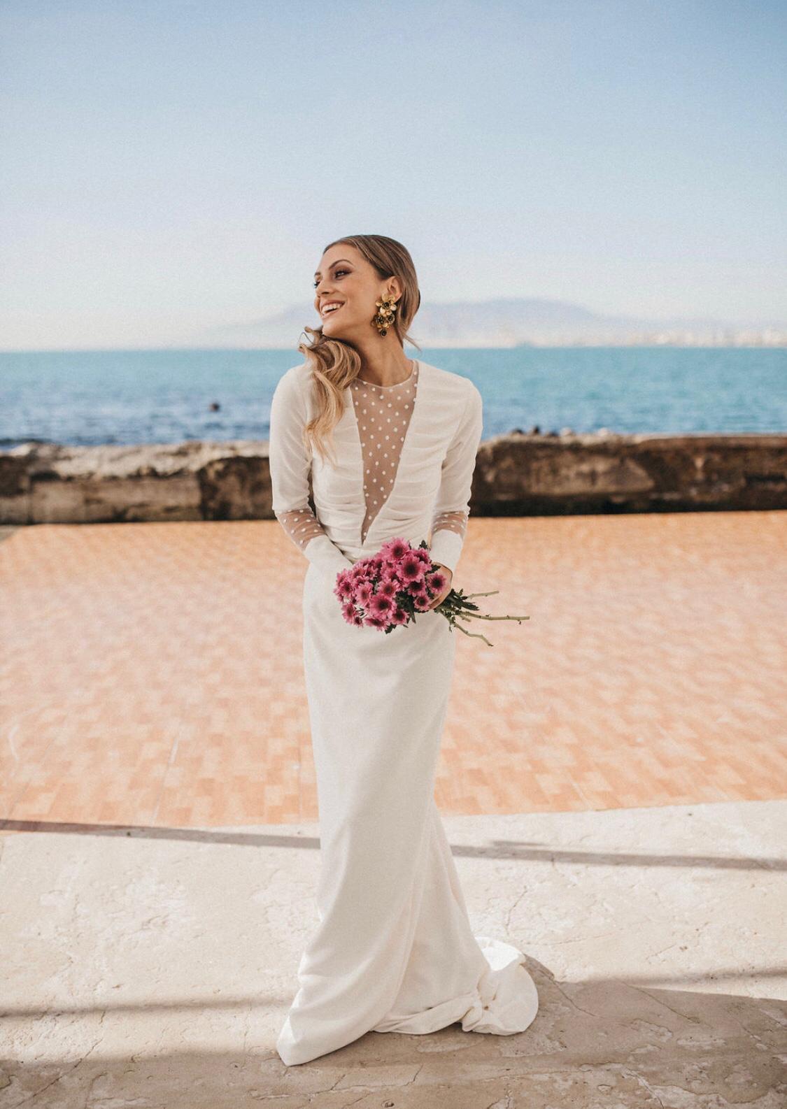 bridalada vestido novia apparentia plumeti