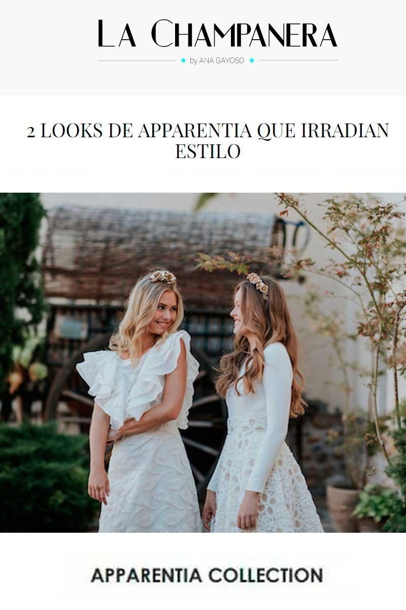 la champanera vestidos de novia apparentia by ana gayoso