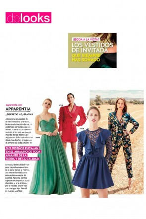 4021e5b26e vestidos invitada revista delooks moda invitadas apparentia comprar online