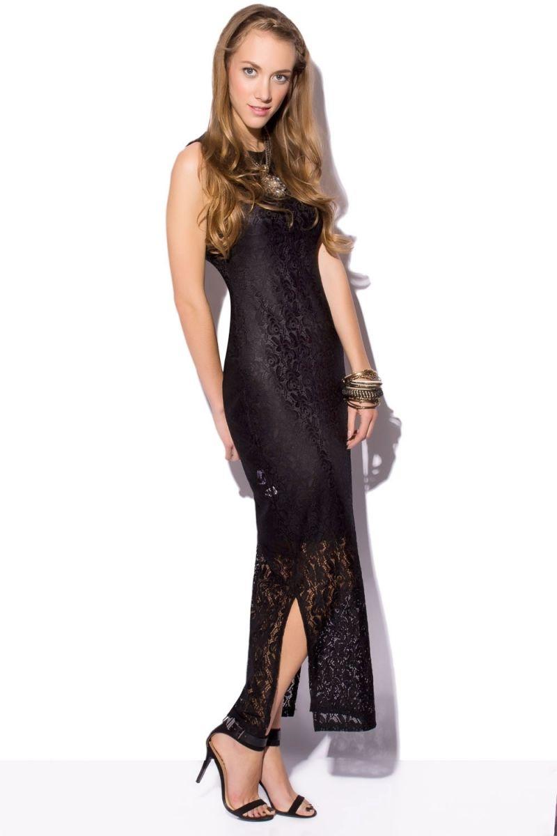Vestidos de fiesta largos negro