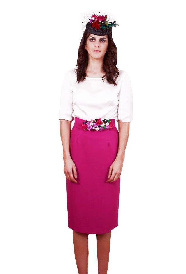 aa877c4a8 Conjunto falda midi y blusa