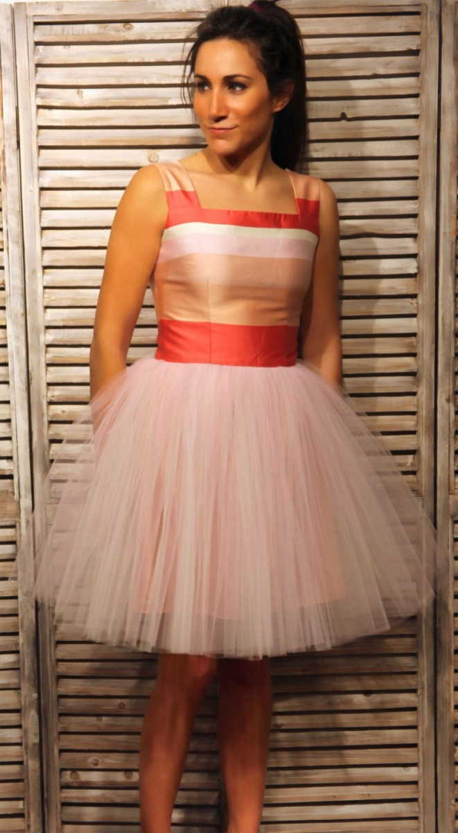Vestidos de fiesta falda tul