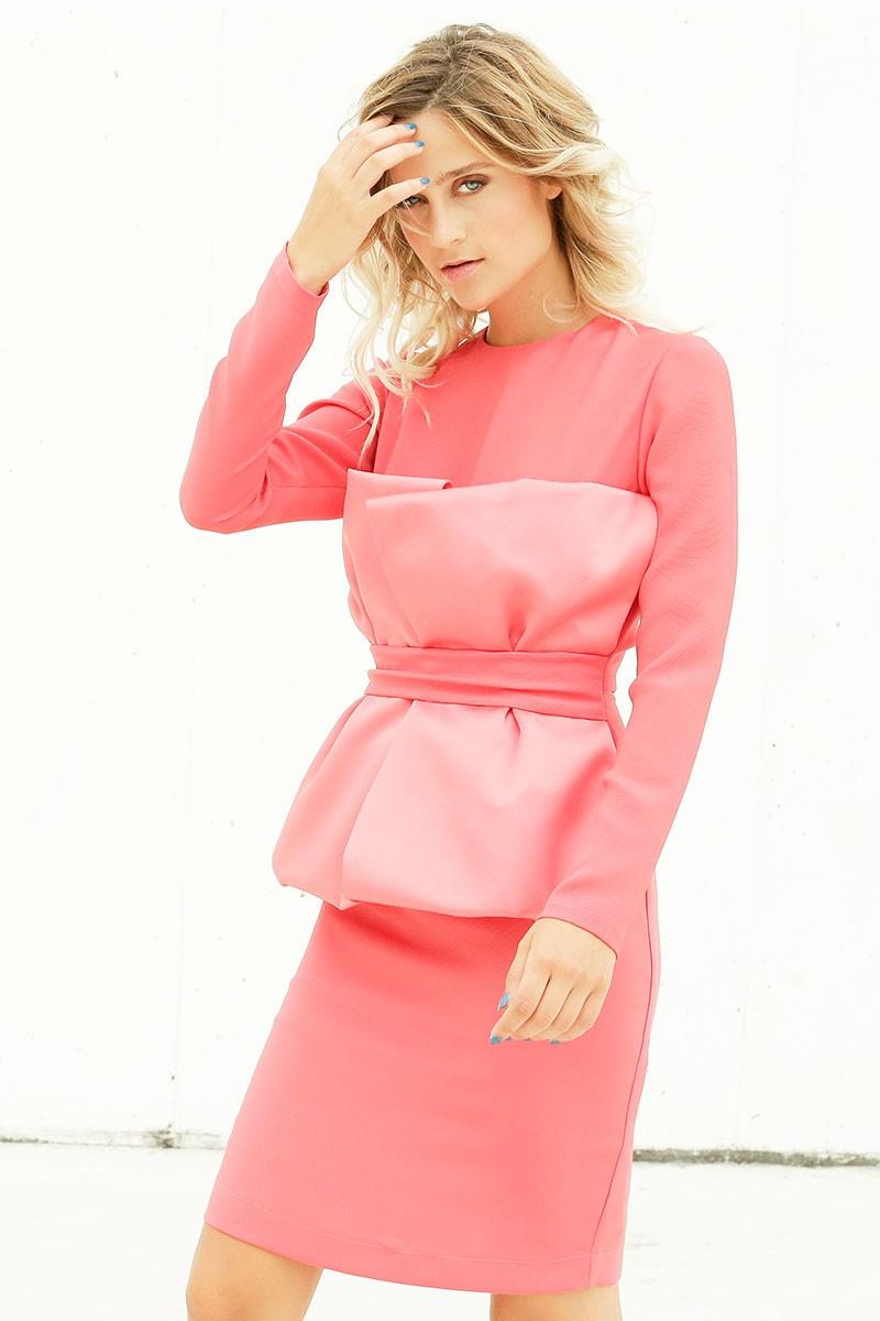 Vestidos de fiesta manga larga y cortos – Moda Española moderna