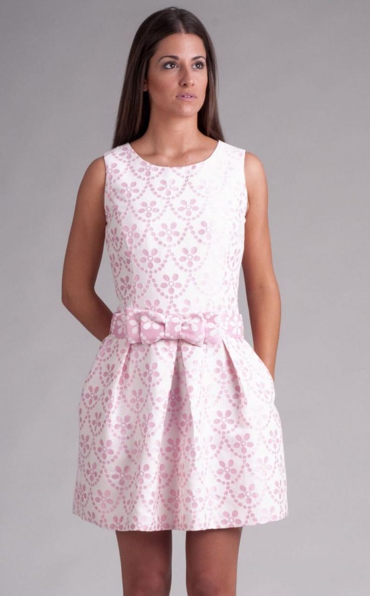 Vestidos cortos en rosa