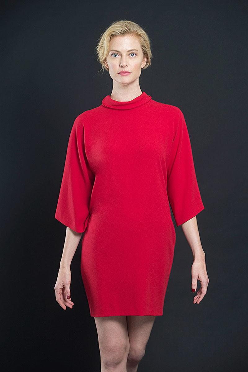 Vestidos de fiesta color rojo cortos