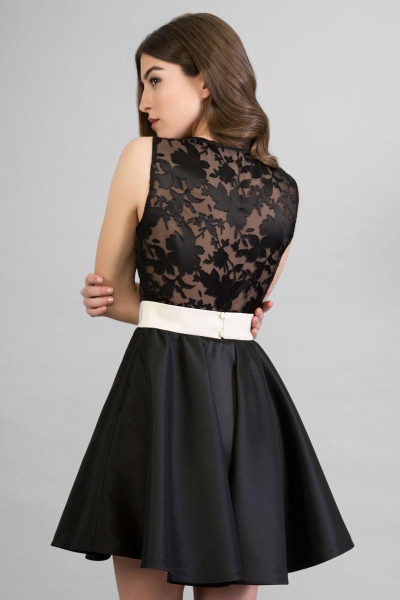 Fotos de vestidos de fiesta cortos con encaje