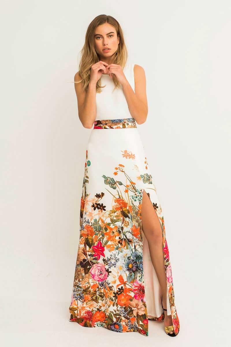 Vestidos largos y de flores