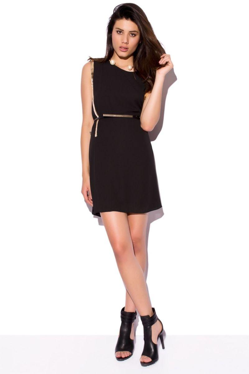 Vestidos de fiesta negro y corto
