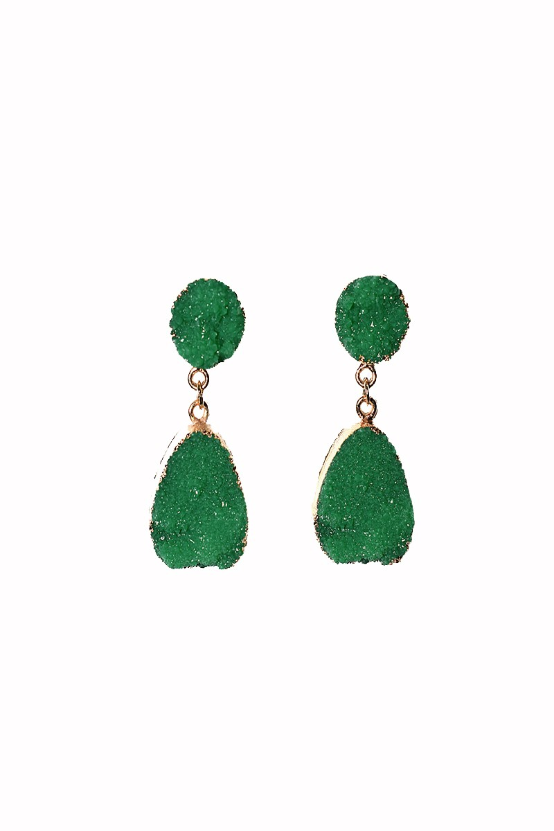 e9eb6b54a221 pendientes verdes piedras apparentia complemento ideal invitadas bodas  eventos