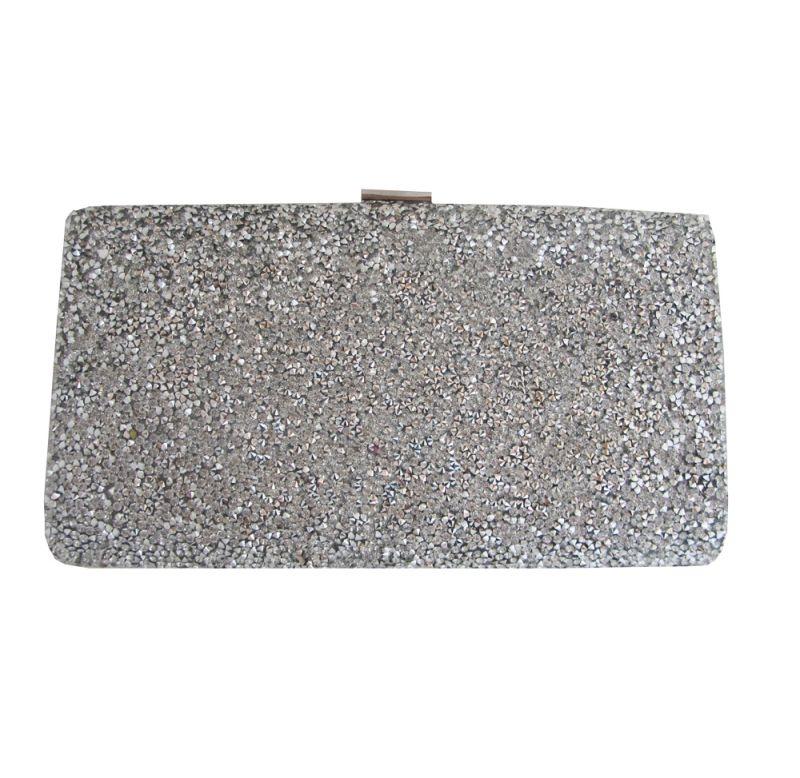 80d68e063 Bolso de fiesta clutch plata online