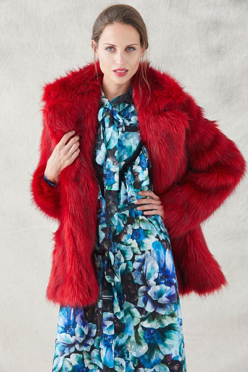 c4559c1d4 vestidos estampados camiseros largos de flores azules moradas para  invitadas de bodas eventos fiestas shopping