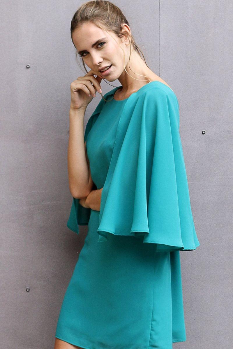 Complementos para un vestido verde turquesa