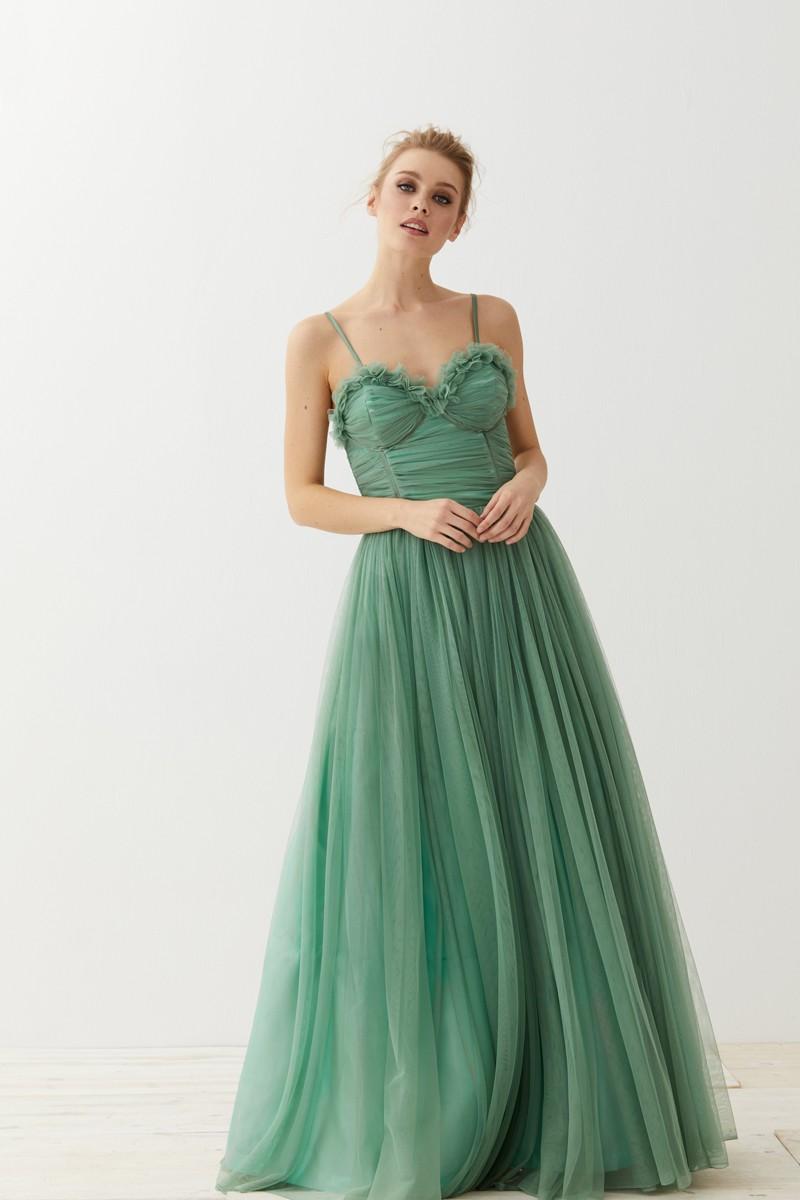 Vestidos de graduacion verde aqua
