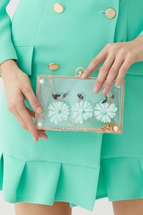 a6e3edba3 bolso-de-fiesta-clutch-metacrilato-flores-cristales-aguamarina-