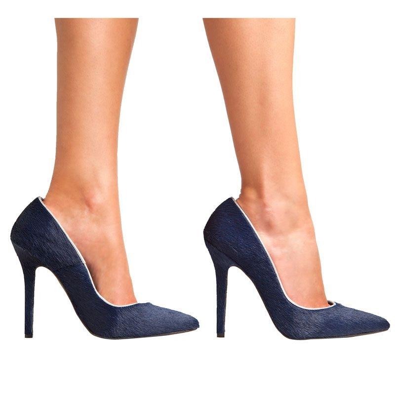 De Piel Potro 34 Salón Zapato Azul Mas fHwtAAqd