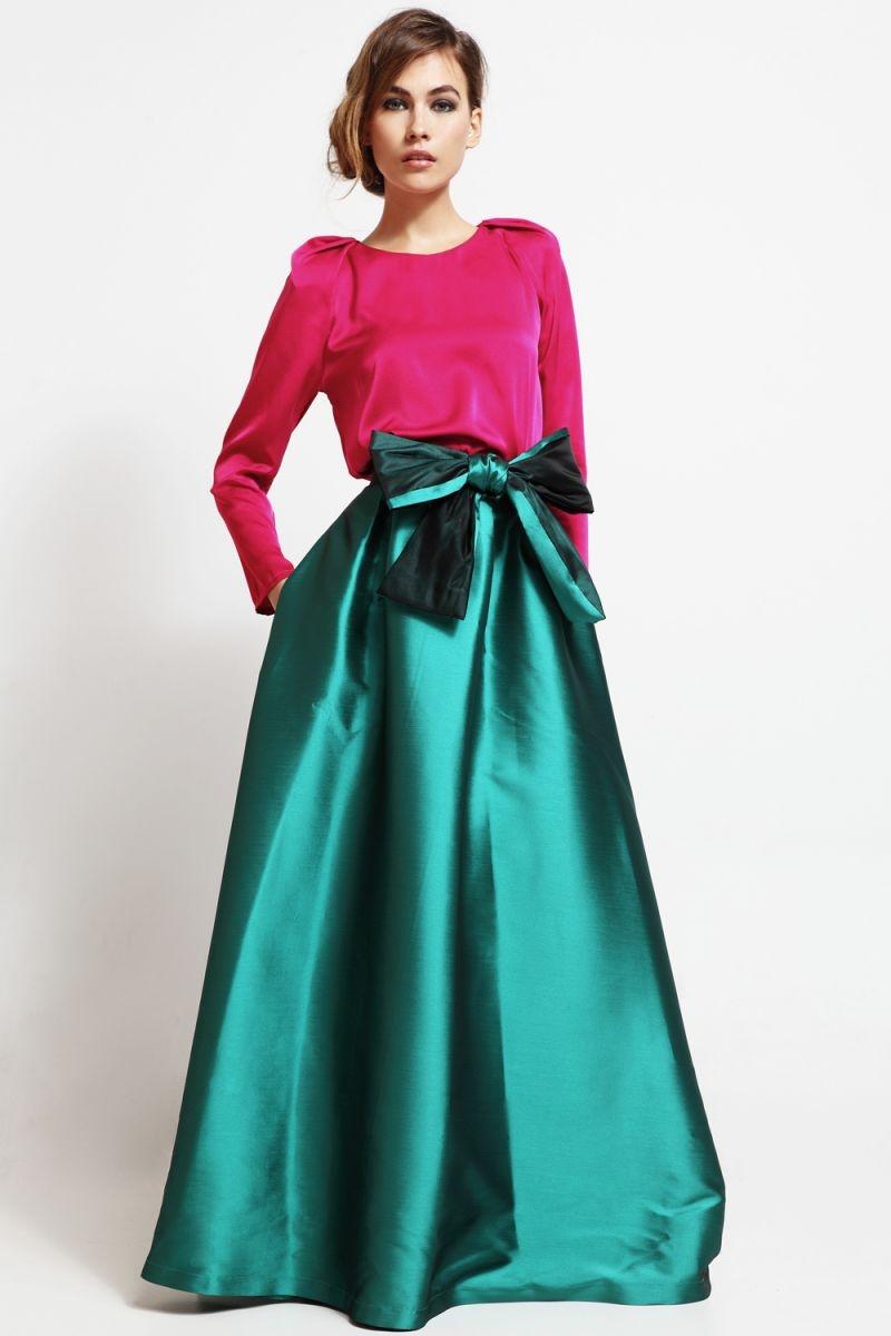 474bf1d32790d blusa de fiesta con mangas abullonadas volumen hombros rosa para