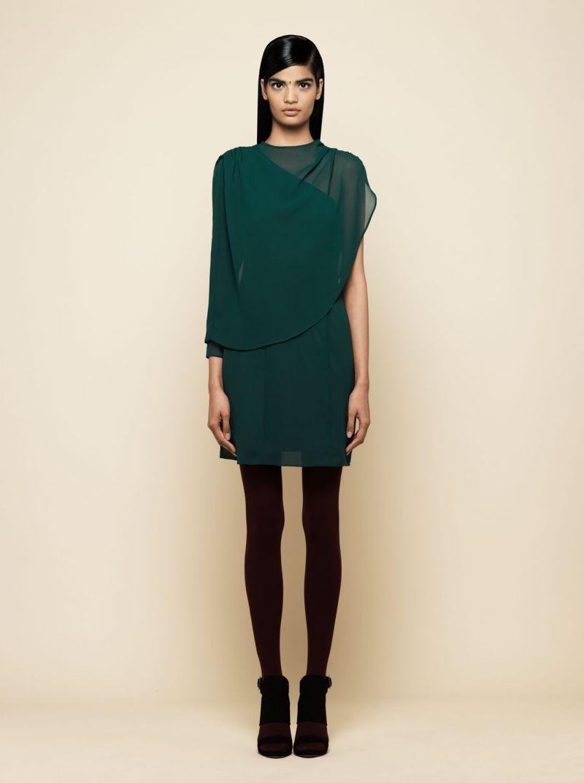 Complementos para vestido verde oscuro