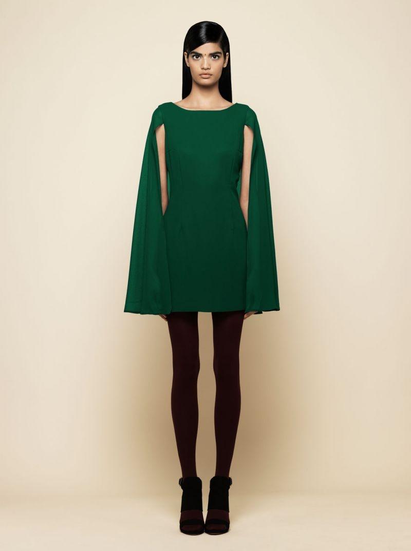 Vestidos de fiesta de color verde oscuro