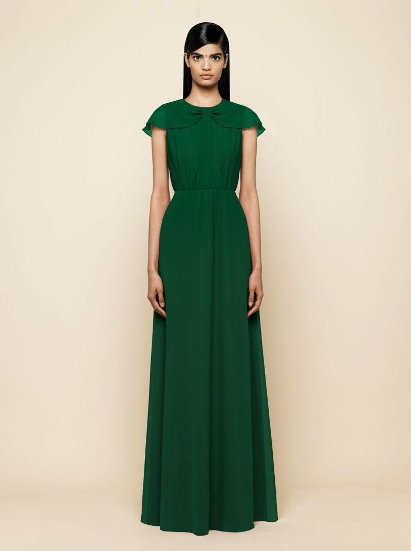 Vestidos de fiesta largos en verde