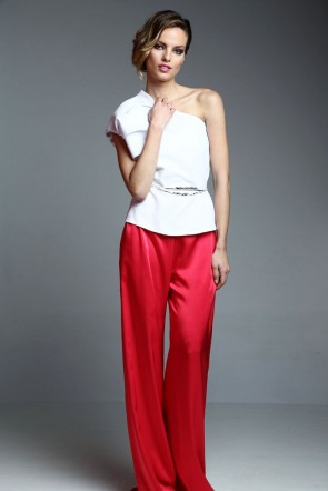 pantalon ancho rojo para invitadas boda fiesta cocotel online de apparentia collection