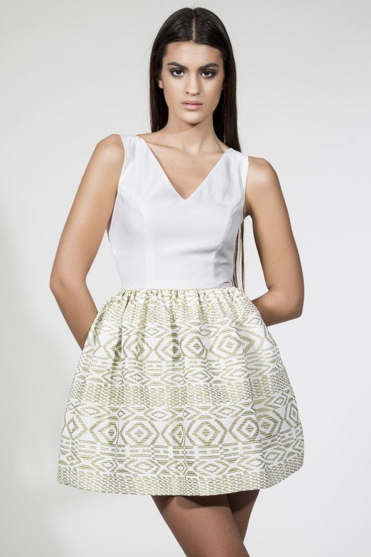 fed37d929 Vestidos de fiesta cortos blanco 2015 – Vestidos de dama de honor caros