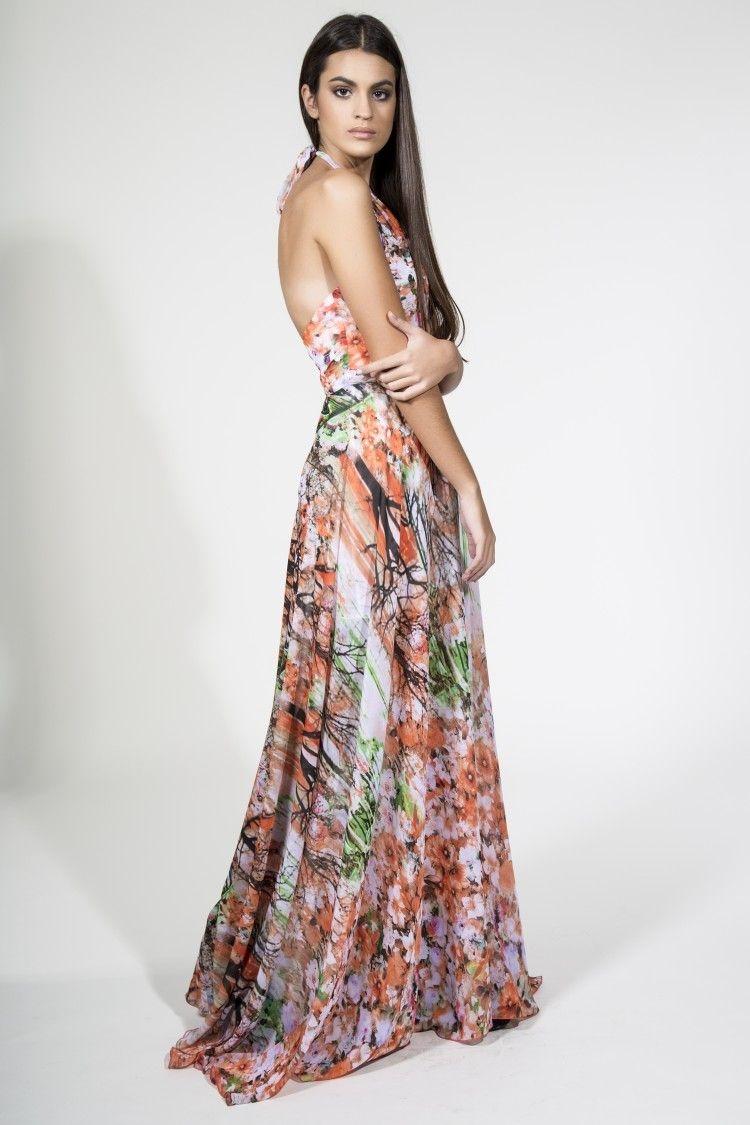 Vestidos de boda largos de flores
