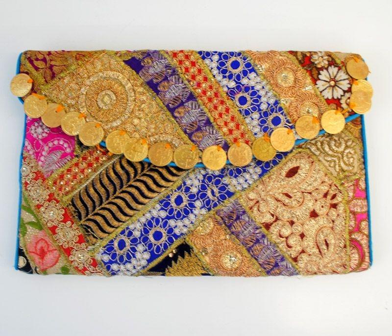 comprar online bolso clutch de fiesta estilo boho banjara para fiestas  eventos en apparentia 2455f8f6640