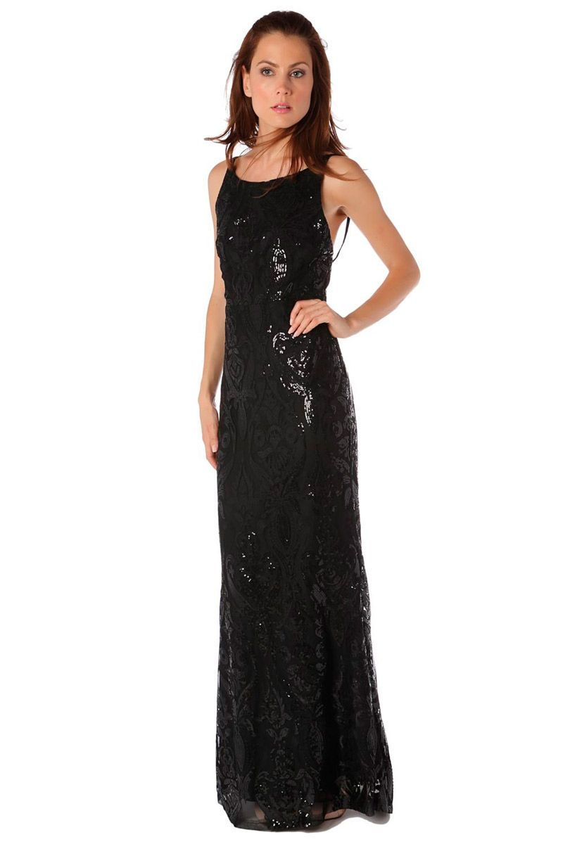 Comprar vestido negro lentejuelas
