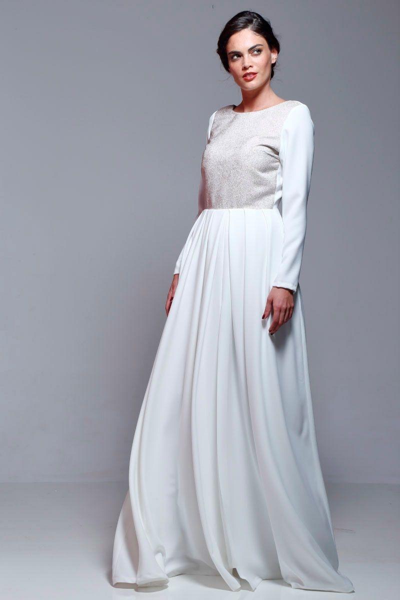 Vestidos fiesta largos blancos