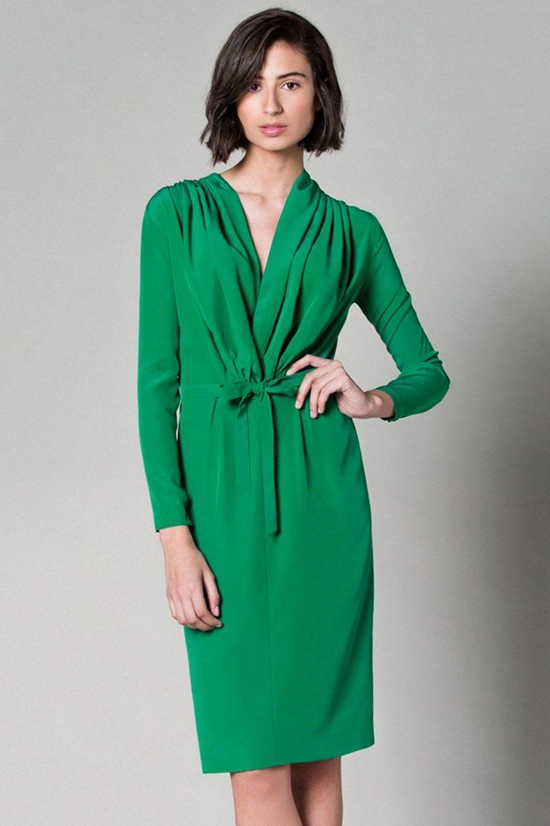 Vestidos verde esmeralda para bodas