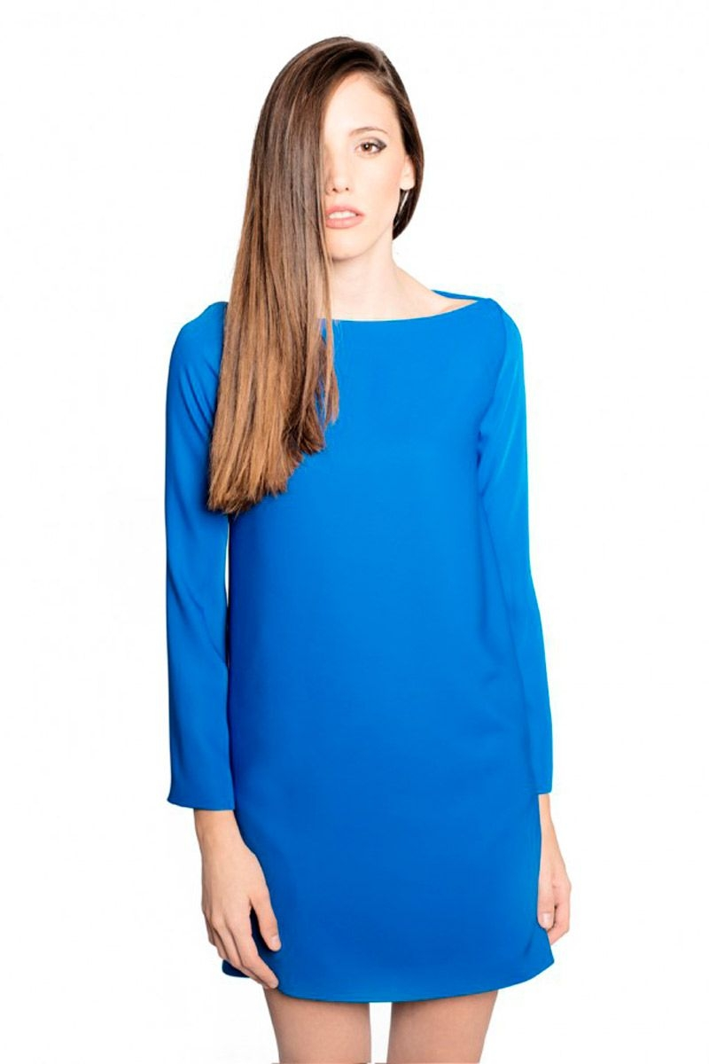 Vestidos azul klein 2016