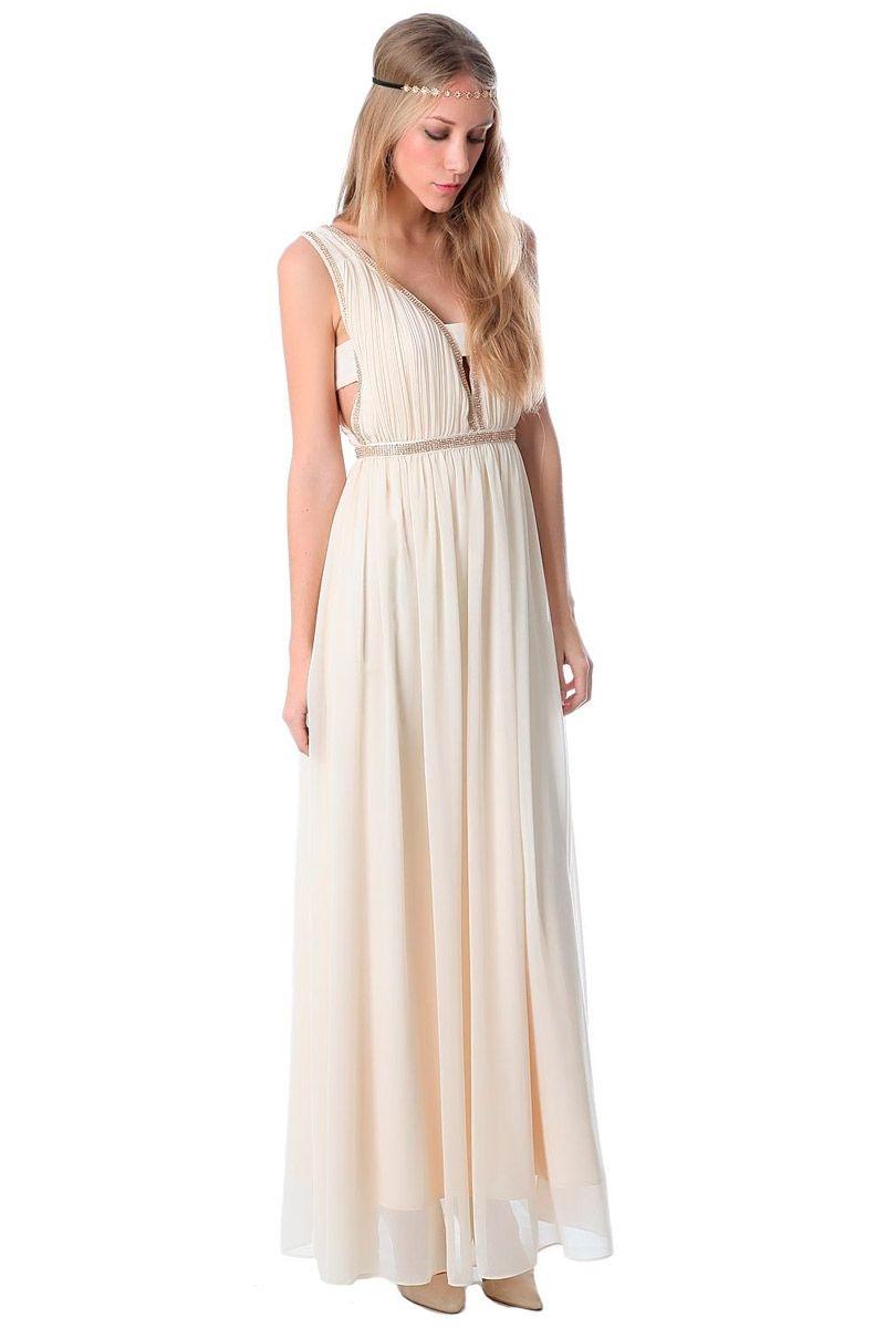 Vestidos corte griego fiesta