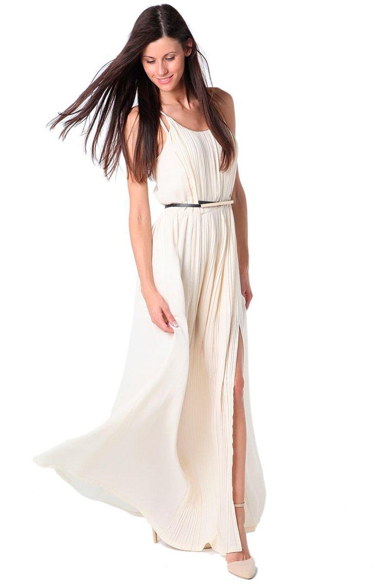 Comprar vestidos de fiesta largos blanco