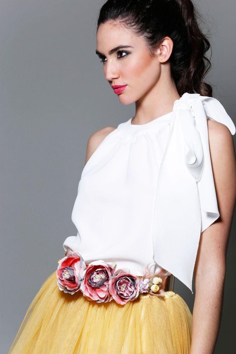 Vestidos color mostaza - Falda De Tul Amarilla De Fiesta