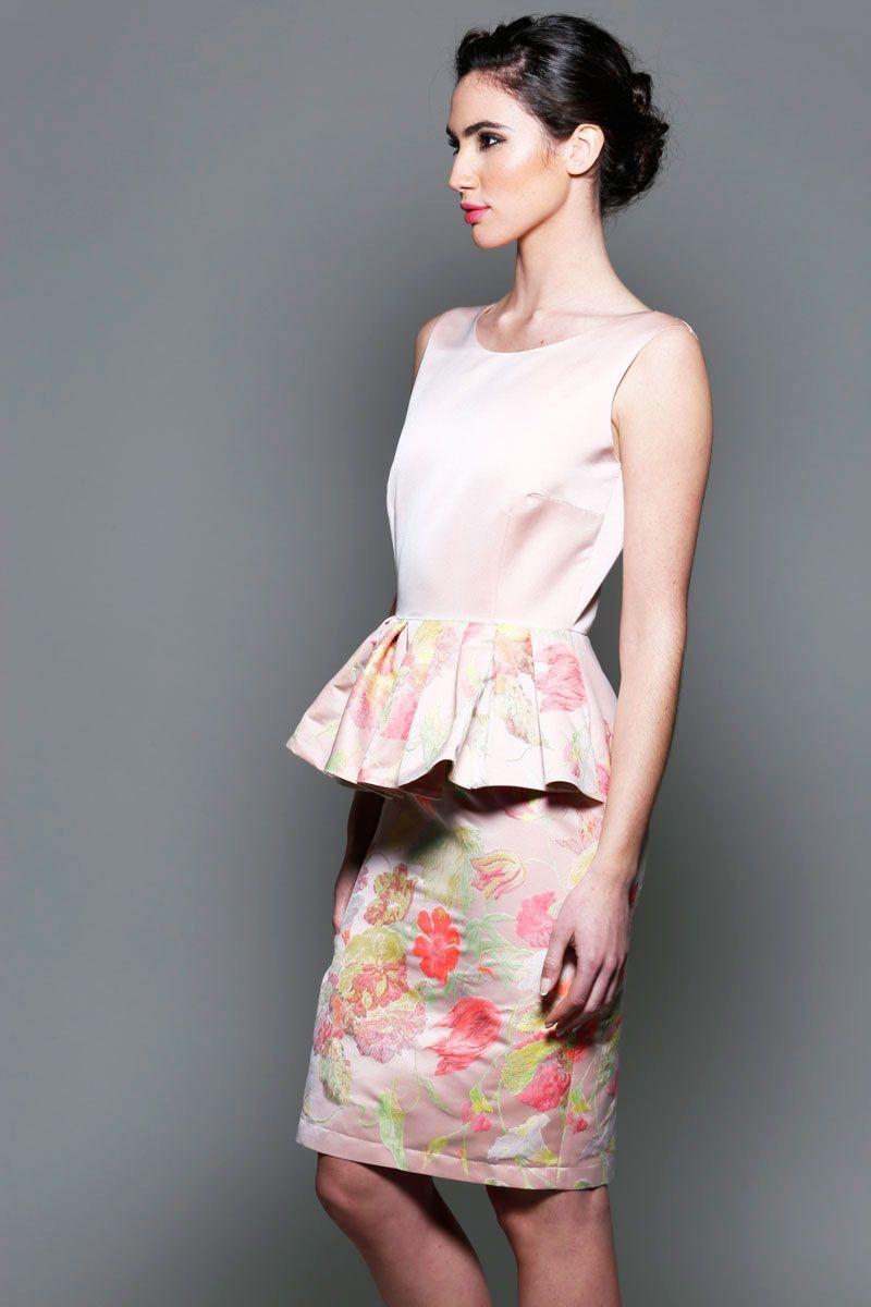 Vestidos de fiesta rosas rosa