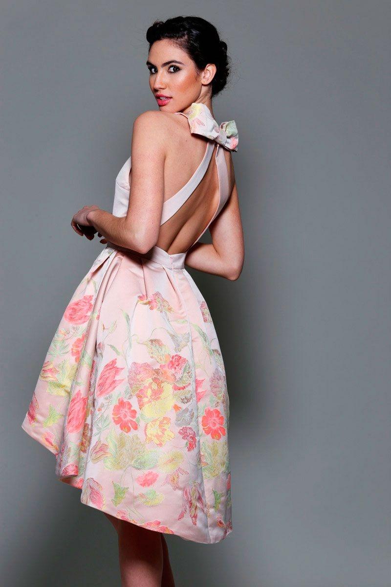 Vestidos de fiesta asimetricos online