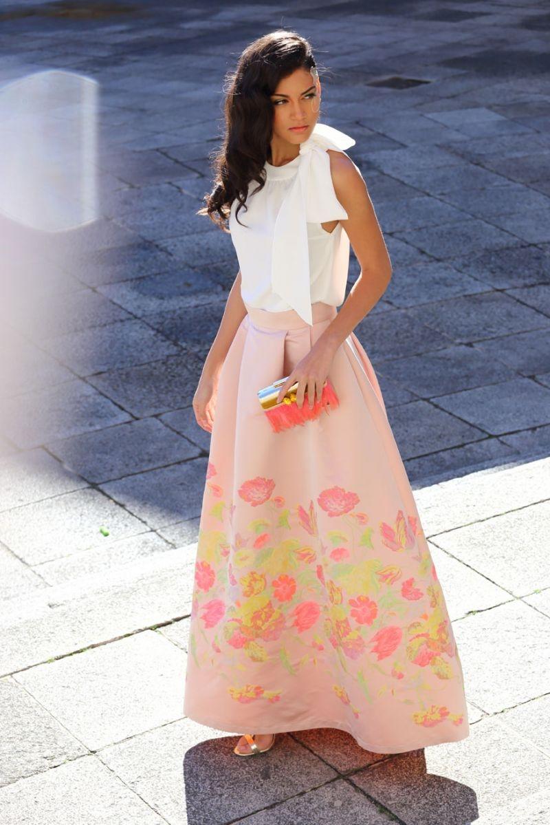 Vestidos fiesta falda larga