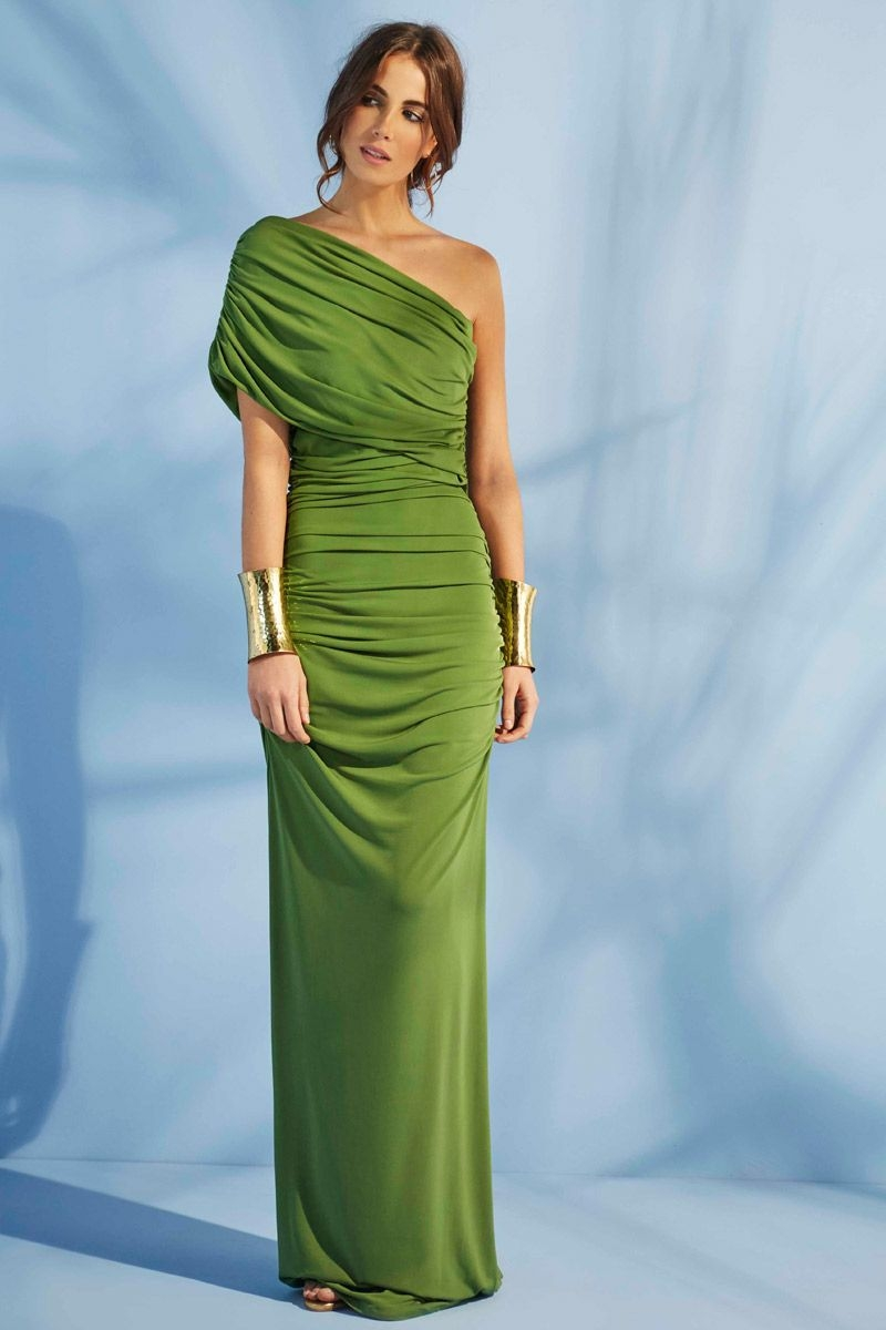 Vestidos de fiesta verde agua 2015