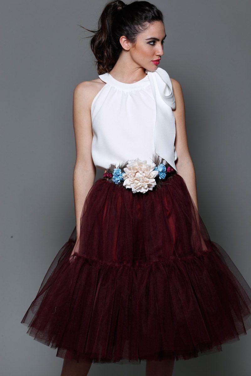 Cinturones para vestidos de fiesta con flores