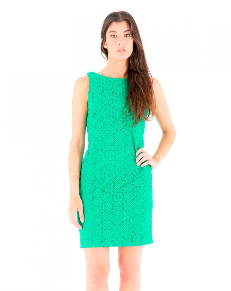 Vestidos fiesta verdes cortos